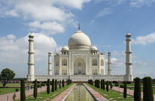 Peligra el Taj Mahal por una plaga de insectos