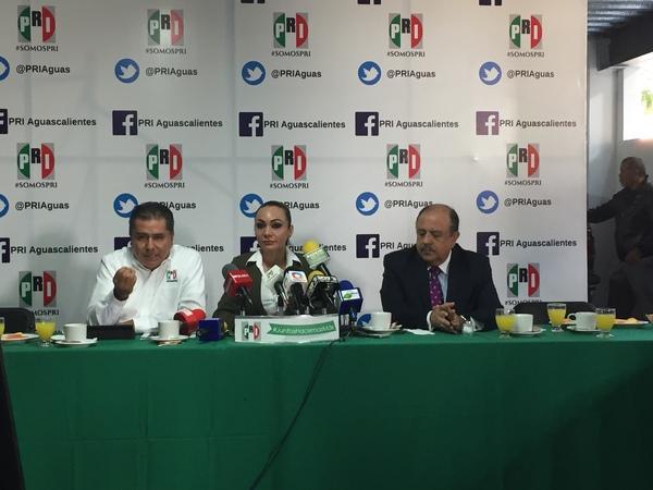 "Rechaza PRI ""dedazo"" en candidaturas de Aguascalientes"