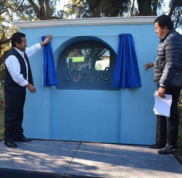 Abre Ixmiquilpan parque remozado