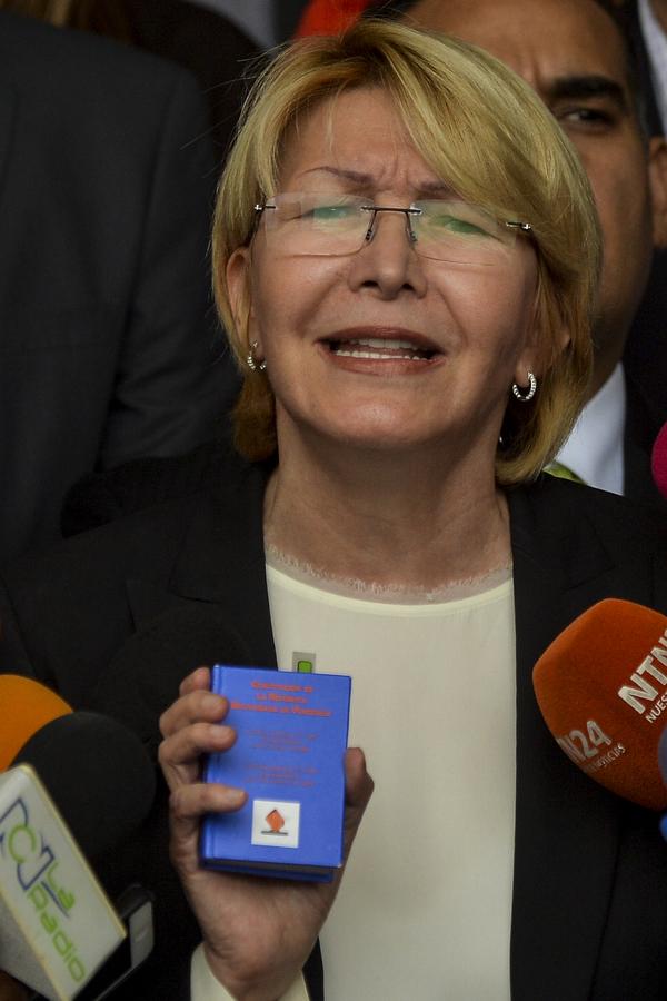 Fiscal venezolana impugna el nombramiento de sus magistrados