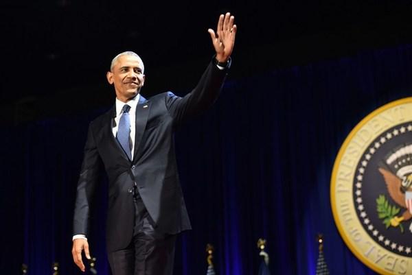 Obama se despide con un mensaje a la unidad en EE.UU.