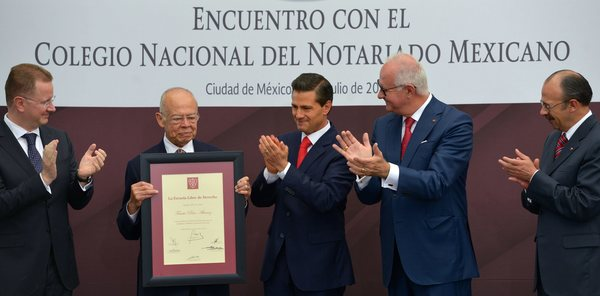Legalidad y derechos humanos, el reto del notariado