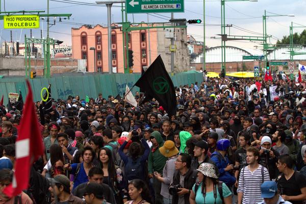 Martes 13 de terror en el DF: se esperan siete manifestaciones