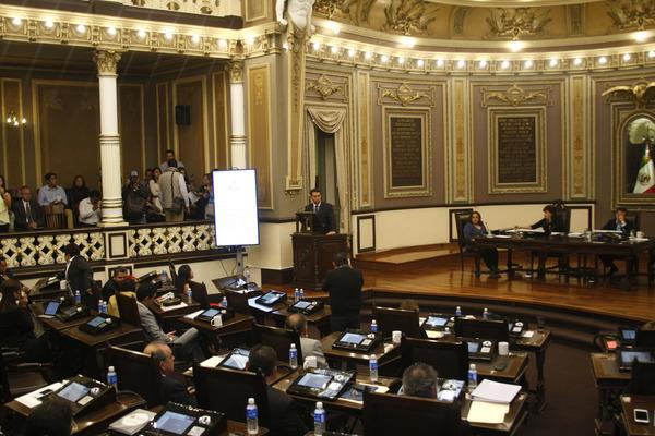 Mañana votan en el pleno cuenta pública de gobernador poblano