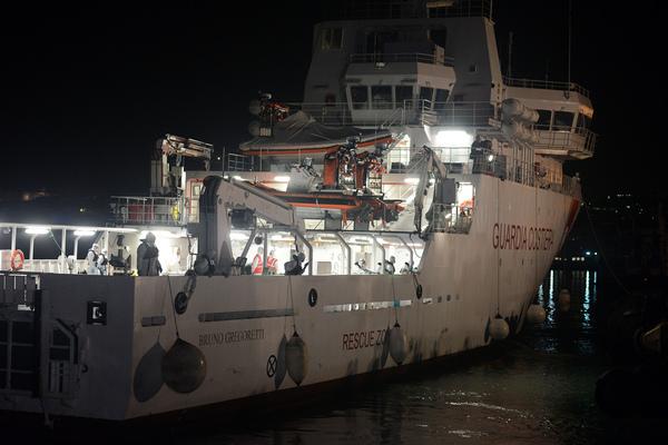 Capitán, responsable de naufragio en el Mediterráneo