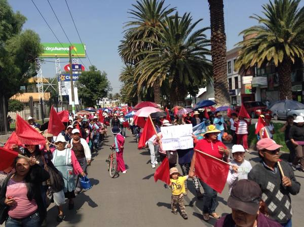 Aplazan plantón en la Juárez
