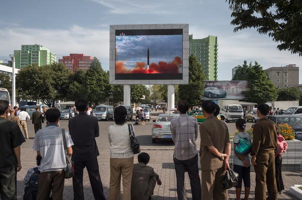 Detectan actividad en una base de misiles norcoreana