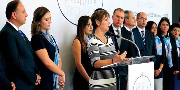 Presentación del gabinete de Yoli Tellería