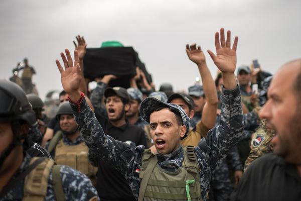 Miembros de fuerzas iraquíes mueren emboscados por EI
