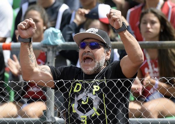 """Maradona: """"El fútbol argentino está quebrado"""""""