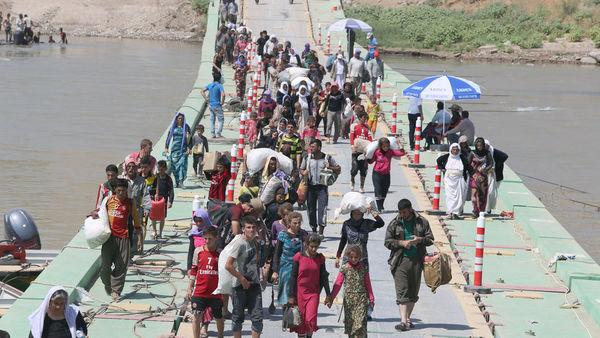 Los países en desarrollo dan hogar a 65 millones de desplazados
