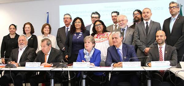 ONU y CEPAL reconocen a la Constitución de la CDMX