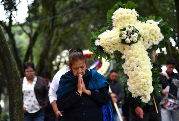 Velan a María Ortiz, empleada del hogar que murió en la Condesa