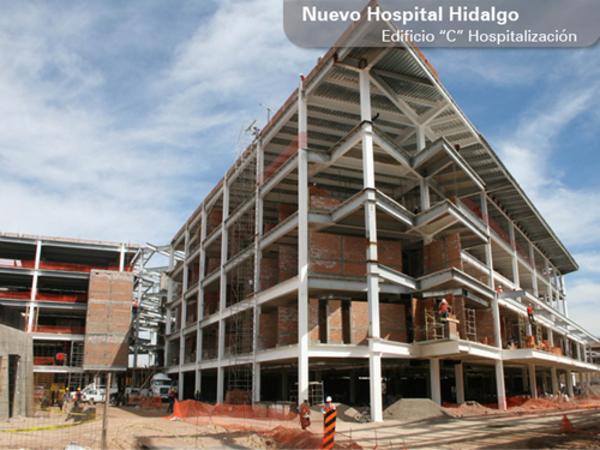 'Aguantan' a Epccor retraso de 15 mdp en Hospital Hidalgo