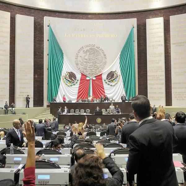 Diputados mexicanos: inexpertos e impopulares