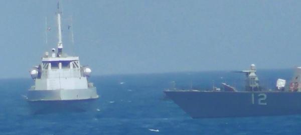 Irán enviará buques de guerra al Golfo de México