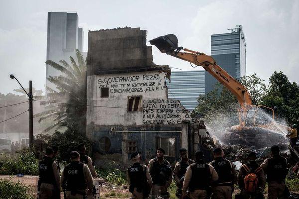 20 familias de Río dicen no al desalojo forzado por olimpiadas