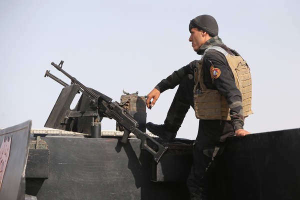 Yihadistas atacan Ramadi avanzan hacia zona arqueológica