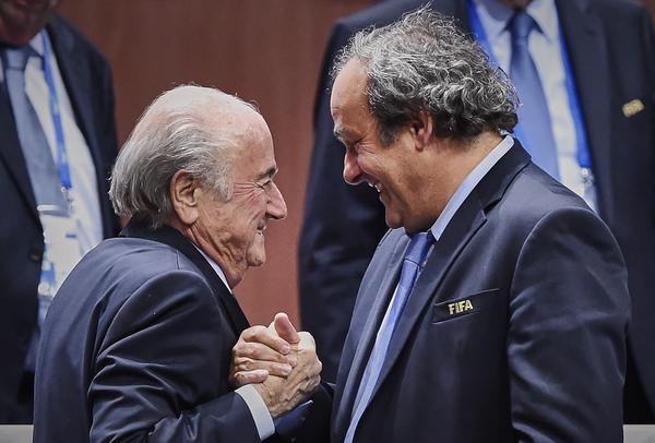 Blatter-Platini, una guerra sin armisticio en la FIFA