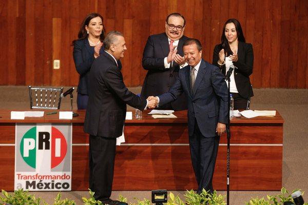 Camacho, nuevo coordinador del PRI en San Lázaro