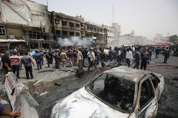 Doble atentado en Bagdad deja al menos 22 muertos