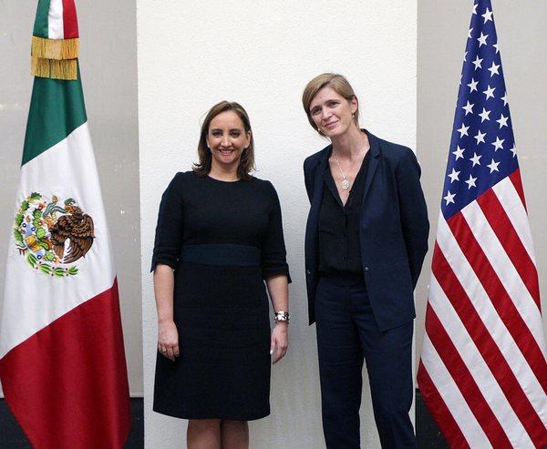Políticos de EE.UU deben aceptar intensa relación con Mexico: Ruiz Massieu