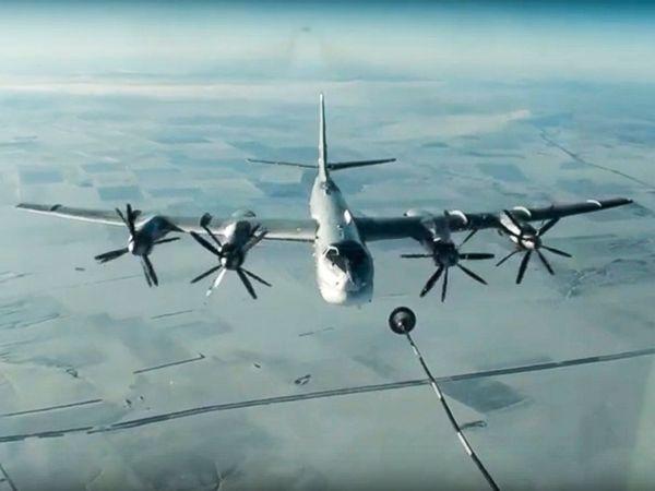 Dos aviones rusos son interceptados frente a la costa de Alaska