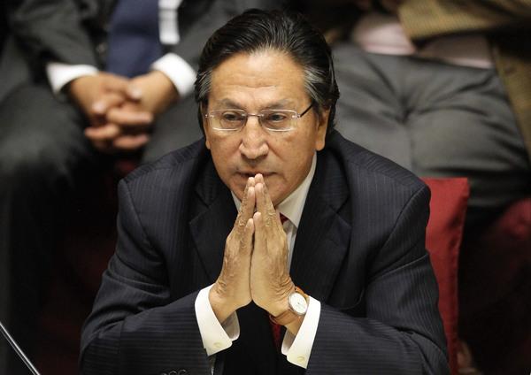 El expresidente Toledo está en EE.UU. y podría huir a Israel