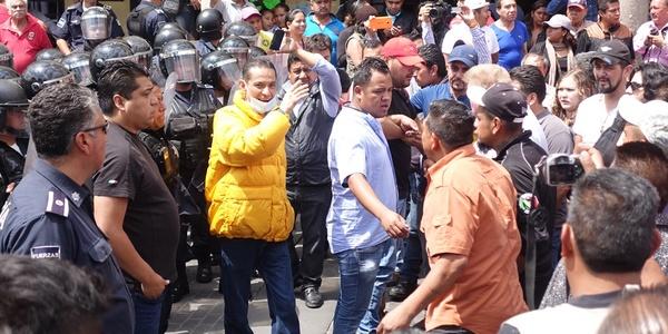 Fuerza pública si Perro tomas las calles: alcaldía