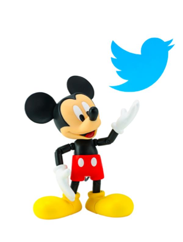 Twitter sería parte del reino Disney