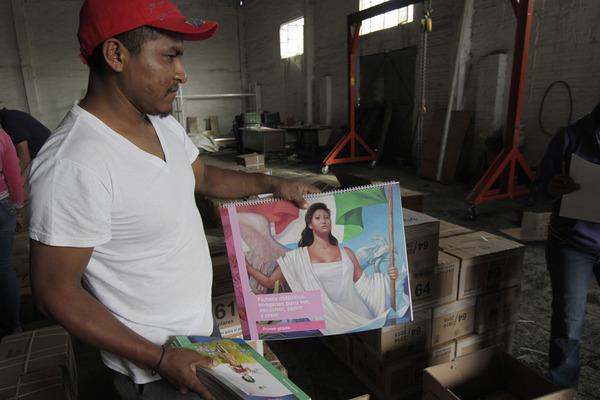En Puebla imprimen 10% de libros de texto