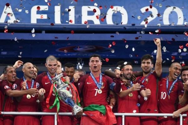 Portugal campeón sin Cristiano