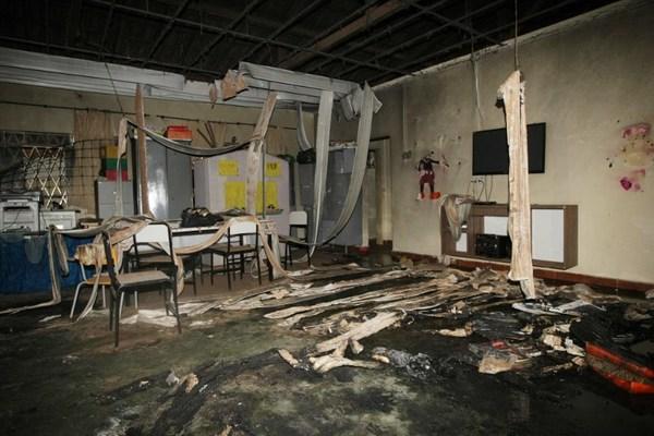Trabajador incendia guardería; reportan cinco muertos