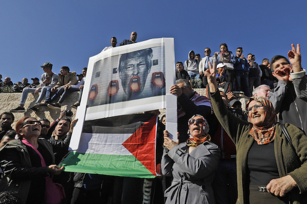 """Mueren dos palestinos en el """"día de ira"""" tras anuncio de Trump sobre Jerusalén"""