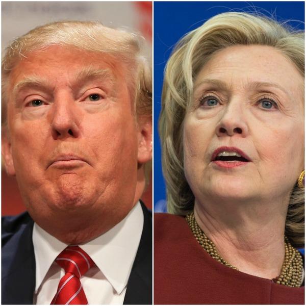Elecciones EEUU: contienda de impopularidad entre Clinton-Trump