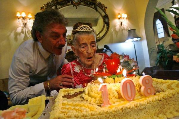 La longevidad está codificada en los genes de las personas centenarias