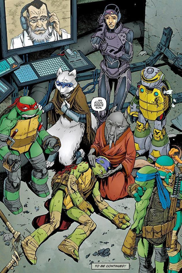 Muere tortuga ninja en combate