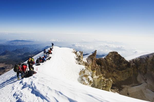 Alpinistas, por momia en Pico de Orizaba