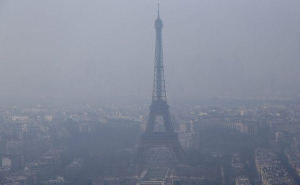 París sufre la peor contaminación invernal en 10 años