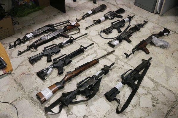 Protestan en reunión de la ATT en Cancún contra armas ilegales