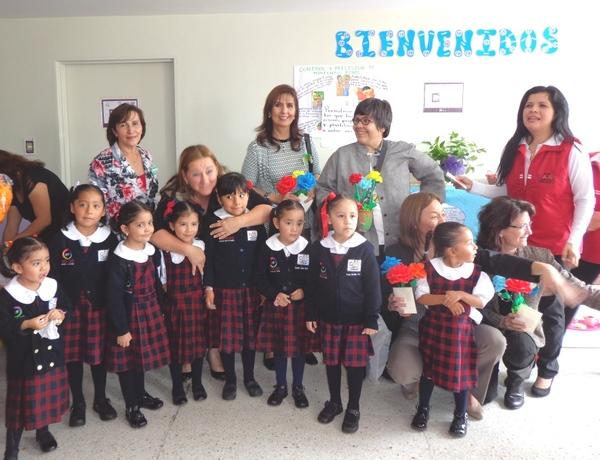 Supervisa Unicef avances en centros infantiles