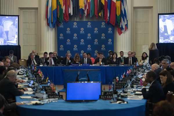 OEA suspende sesión sobre Venezuela