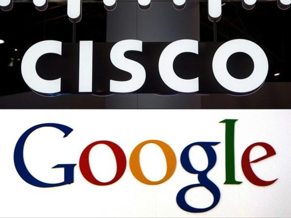 Google se alía con Cisco para competir con Amazon