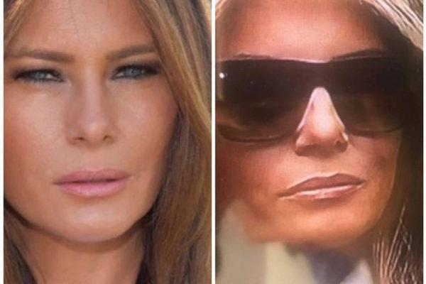 "Se desata controversia por ""doble"" de Melania Trump"