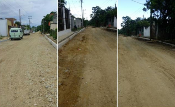 Alcalde de Tabasco nombra calles como su esposa y su hijo