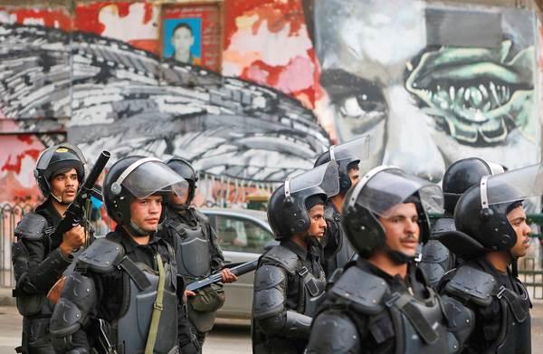El invierno del  disentimiento  en Egipto