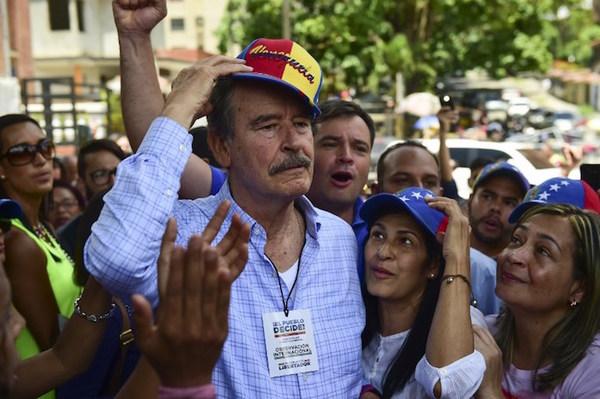 Fox compara plebiscito venezolano con su triunfo en el 2000