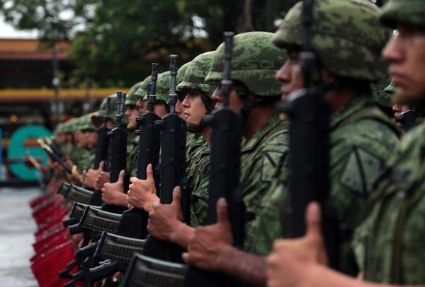 La polémica Ley de Seguridad Interior avanza en el Congreso mexicano