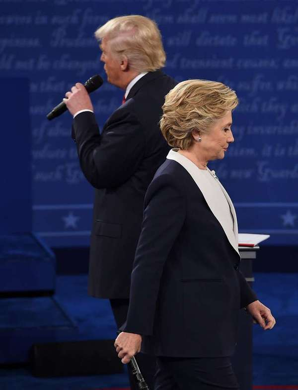 Trump pide Hillary volver a ser candidata para derrotarla