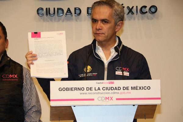 Proponen ley para la reconstrucción de la CDMX